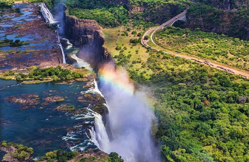 Victoria Falls er et must når du reiser til Zimbabwe